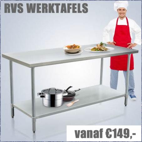 RVS Werktafels